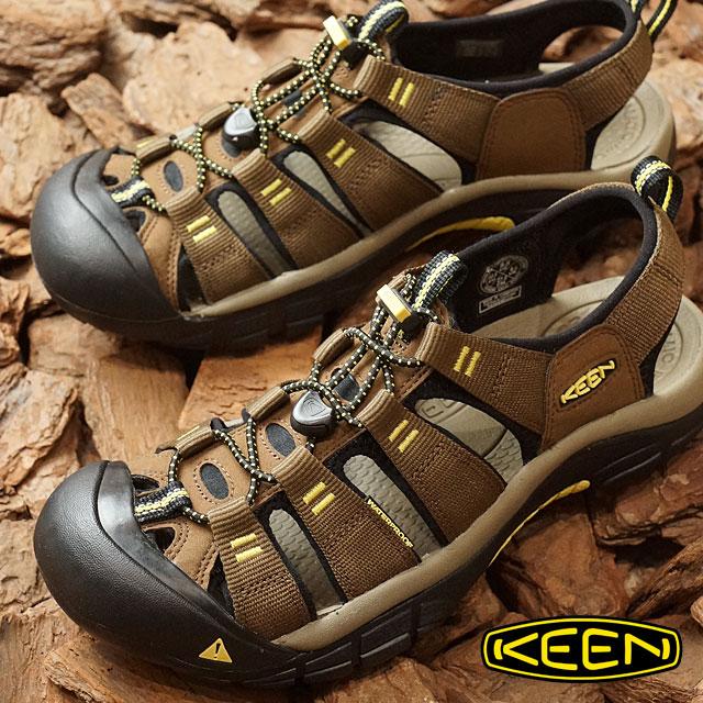 KEEN キーン ニューポート エイチツー サンダル メンズ Newport H2 MNS Dark Earth/Acacia (1016285 SS17)【コンビニ受取対応商品】 shoetime