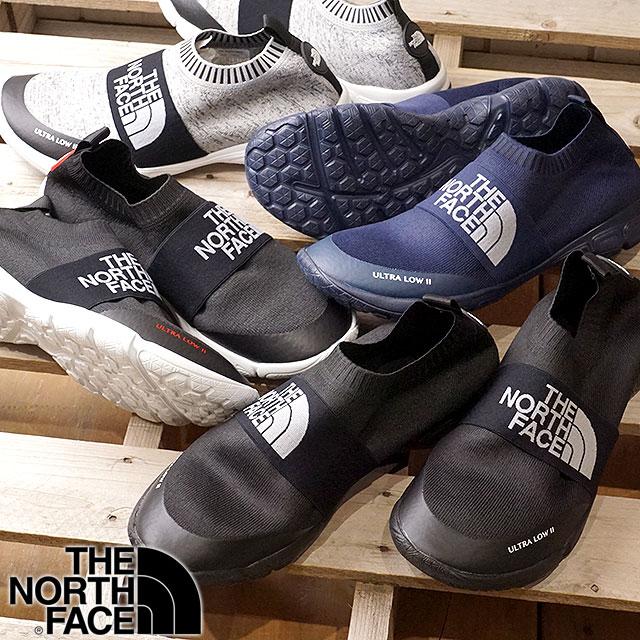 【即納】THE NORTH FACE ザ・ノースフェイス 軽量アフタースポーツシューズ Ultra Low II ウルトラ ロー2 ノースフェース ソックモック (NF51701 SS17)【コンビニ受取対応商品】 shoetime