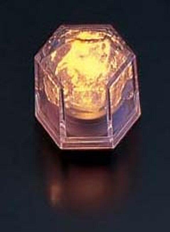 [TKG16-1582] ライトキューブ・クリスタル 標準輝度 (24個入)イエロー