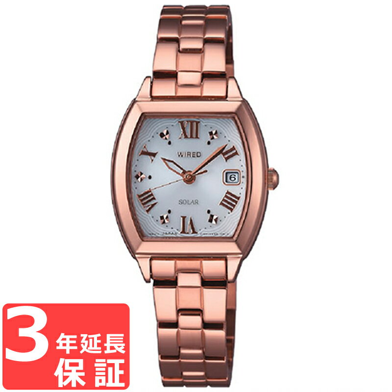 【お取寄せ】セイコー SEIKO  WIRED f ワイアード エフ ソーラー レディース 腕時計 AGED077【着後レビューを書いて1000円OFFクーポンGET】