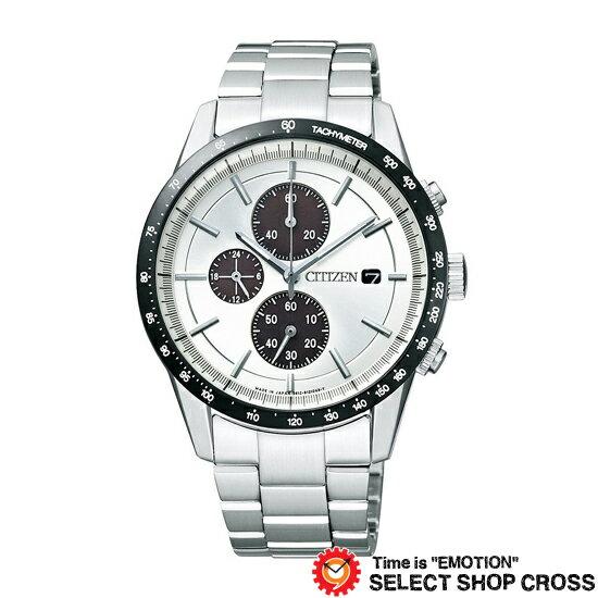 CITIZEN シチズン コレクション エコドライブ メタルフェイスクロノグラフ 腕時計 メンズ CA0454-56A【着後レビューを書いて1000円OFFクーポンGET】