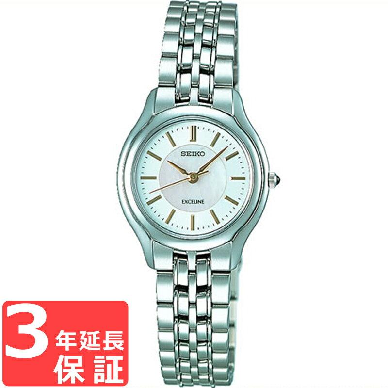 SEIKO セイコー EXCELINE エクセリーヌ クオーツ レディース 腕時計 SWDL099