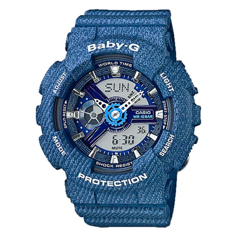CASIO カシオ G-SHOCK ジーショック デニムカラー メンズ 腕時計 BA-110DC-2A2 デニムブルー