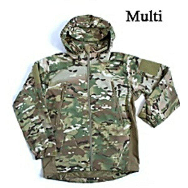 アメリカ軍  SAPジャケット/ソフトシェルジャケット 【 Sサイズ 】 裏起毛 防風/防寒 JJ161YN マルチ 【 レプリカ 】