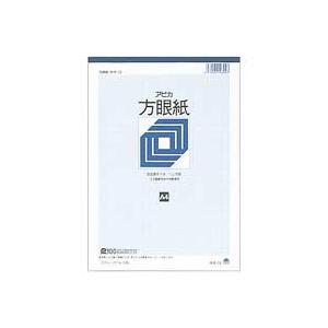 (業務用100セット) アピカ 方眼紙 ホウ12 A4 1ミリ方眼