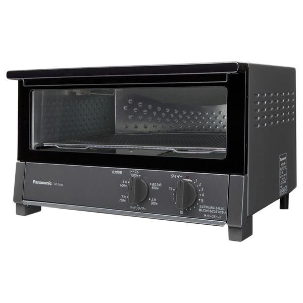 パナソニック(家電) オーブントースター(ダークメタリック) NT-T500-K