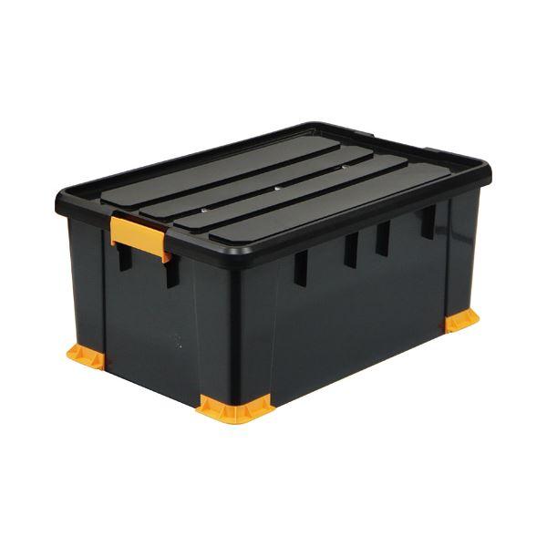 (まとめ) サンカ 頑丈箱(工具箱) ブラック 66×30cm TCP-66-30 1個 【×2セット】