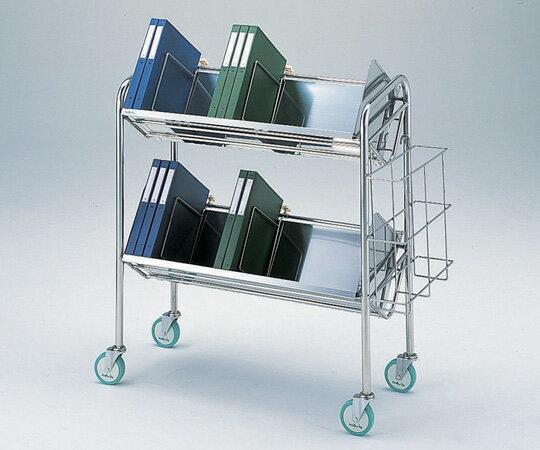 【無料健康相談 対象製品】【ナビス】カルテ運搬車 60型(カゴ付き) 【fsp2124-6m】【02P06Aug16】
