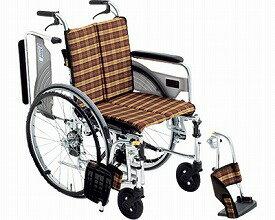 【送料無料】自走式車いす スキット4 SKT-4 座幅38 ♯41 ミキ 【非課税】 W1185【02P06Aug16】
