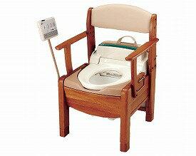 【送料無料】【専門家による1年間の無料介護相談付】ポータブルトイレきらく S型  (48841) 【fsp2124-6m】【02P06Aug16】