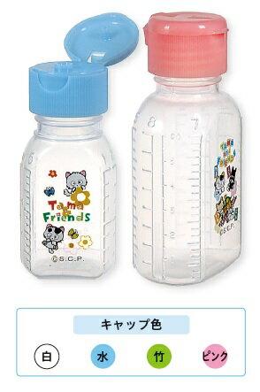 【金鵄製作所】ワンタッチタマ瓶60ml・ピンクフタ規格 23110-005