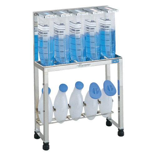 【送料無料】【無料健康相談 対象製品】貯尿架台(尿器掛式)   6人用 GUR-600【02P06Aug16】