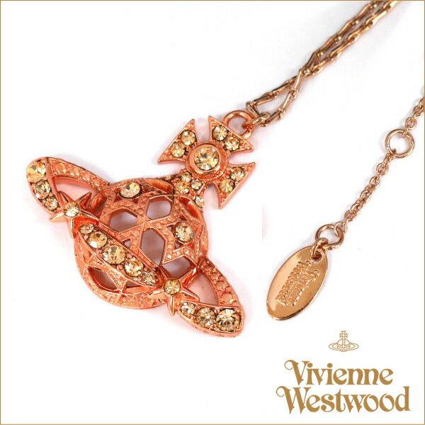 ヴィヴィアン ネックレス アクセサリー ジョイスバスレリーフ ピンクゴールド Vivienne Westwood 541853-bp708-1 ギフト プレゼント