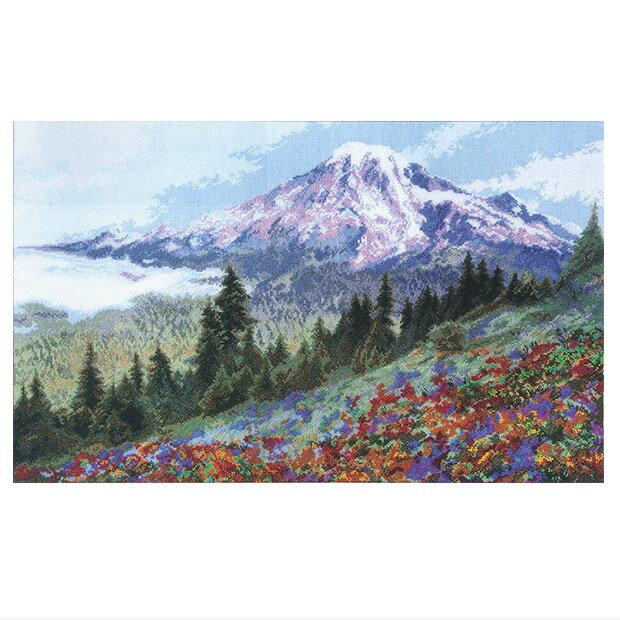 刺繍 輸入キット Charivna Alpine Meadow (アルペンの草原) 【送料無料】