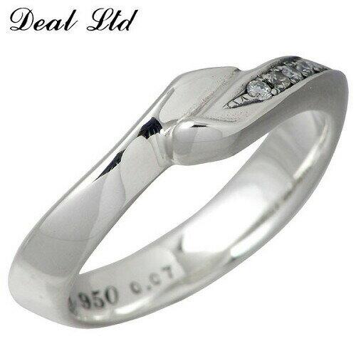 DEAL LTD【ディールエルティーディー】 リング 指輪 レディース メンズ シルバー 3~23号 ダイヤモンド950 ブリタニアシルバー 310058