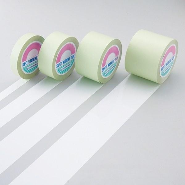 ガードテープ 白 サイズ:100mm幅×100m (148131)