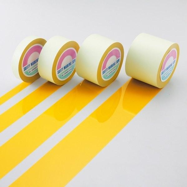 ガードテープ 黄 サイズ:100mm幅×100m (148133)