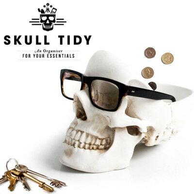【SUCK UK/サックユーケー】スカルヘッドトレイ Skull Tidy/スカルタイディー 小物入れ メガネ置き プレゼント 【あす楽対応可】
