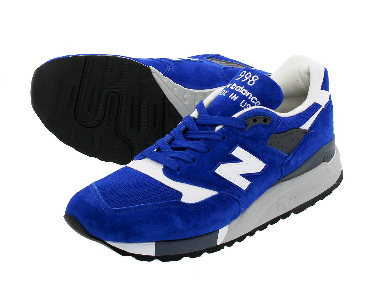 NEW BALANCE M998CBU 【MADE IN U.S.A.】 ニューバランス M 998 CBU BLUE/WHITE