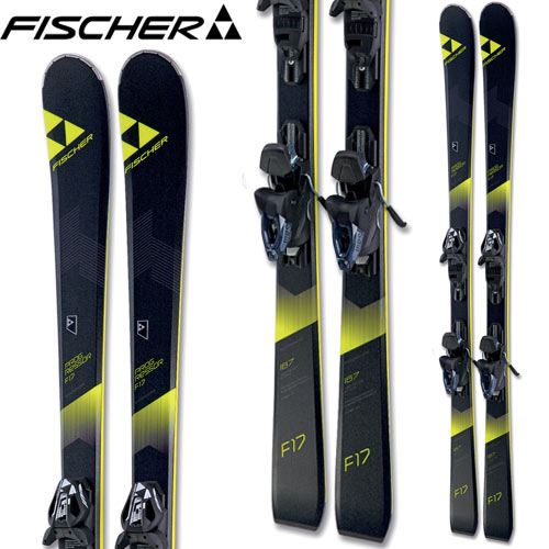 フィッシャー FISCHER 17-18 スキー SKI 2018 PROGRESSOR F17 プログレッサーF17 + RC4 Z11 Powerrail (金具付き) 基礎 ゲレンデ (-):