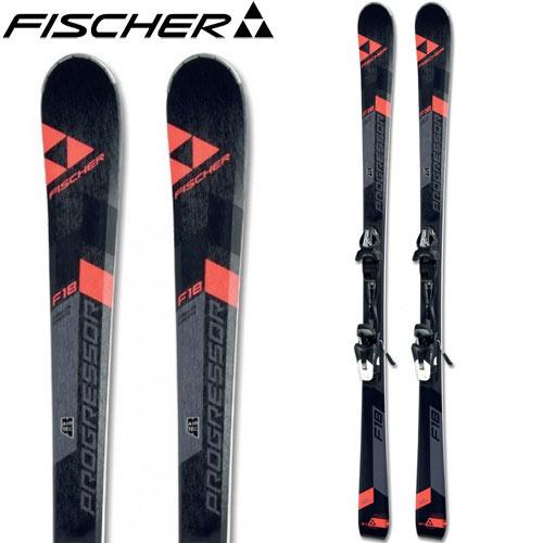 フィッシャー FISCHER 16-17 スキー 2017 PROGRESSOR F18 W プログレッサーF18W + W10 WOMANTRACK (金具付き) 基礎 レディース [特価 アウトレット] (-):