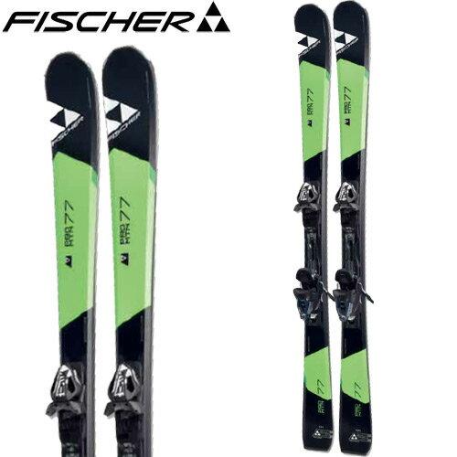 フィッシャー FISCHER 16-17 スキー 2017 PRO MTN 77 PR + RSX12 PR (金具付き) オールマウンテン [特価 アウトレット] (-):