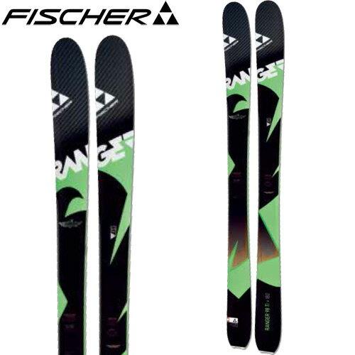 フィッシャー FISCHER 16-17 スキー 2017 RNG 98 TI (板のみ) フリーライド オールマウンテン [特価 アウトレット] (-):