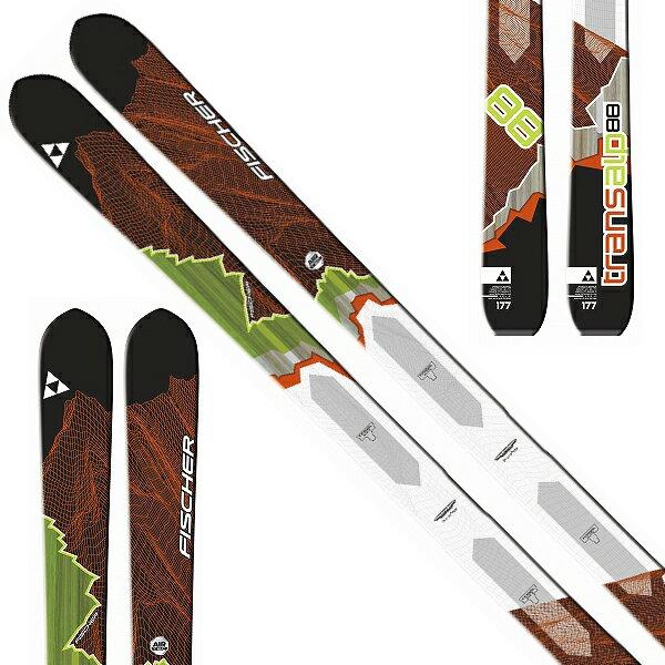 フィッシャー FISCHER 15-16 スキー 2016 TRANSALP 88 トランザルプ88 (板のみ) ツアー オールマウンテン [特価 アウトレット] (-):