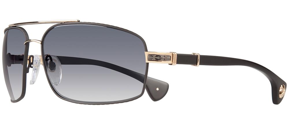 CHROME HEARTS THE BEAST III  クロムハーツ サングラス Matte Black/Gold Plated - Matte Black Plastic