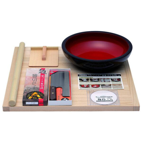 普及型麺打セット DVD付 [A-1200 ]