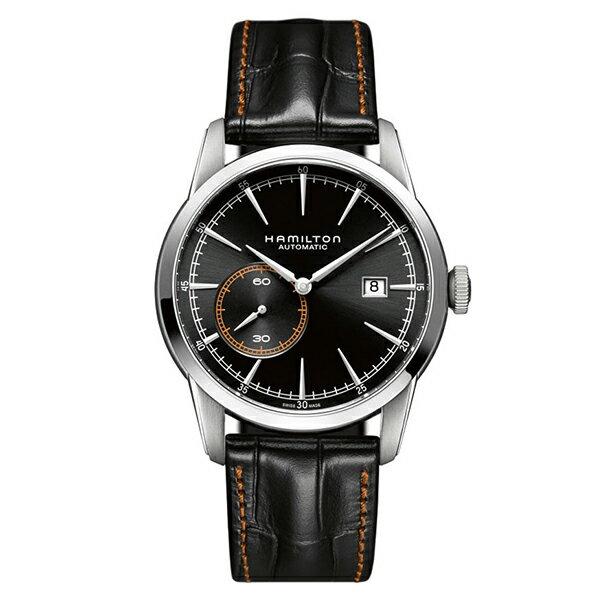 取寄品 HAMILTON自動巻き腕時計 機械式 ハミルトン H40515731 TIMELESS CLASSIC RAILROAD SMALL SECOND AUTO メンズ腕時計 auktn 送料無料