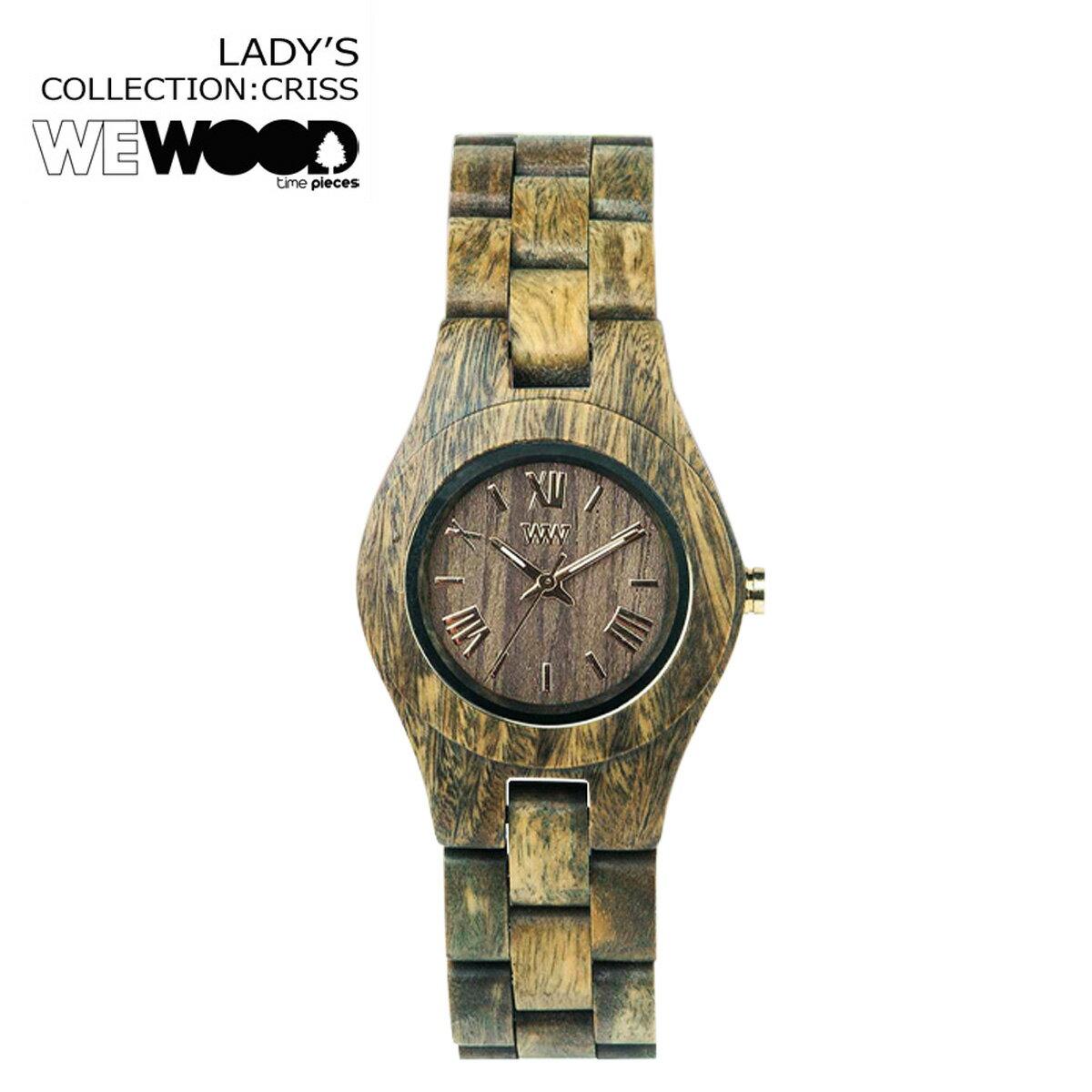 WEWOOD 腕時計 レディース ウィーウッド CRISS アーミー ARMY クリス ウォッチ 時計