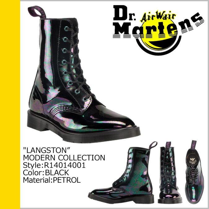 ドクターマーチン 8ホール メンズ レディース Dr.Martens ブーツ  LANGSTON  R14014001 [S10] [返品不可]