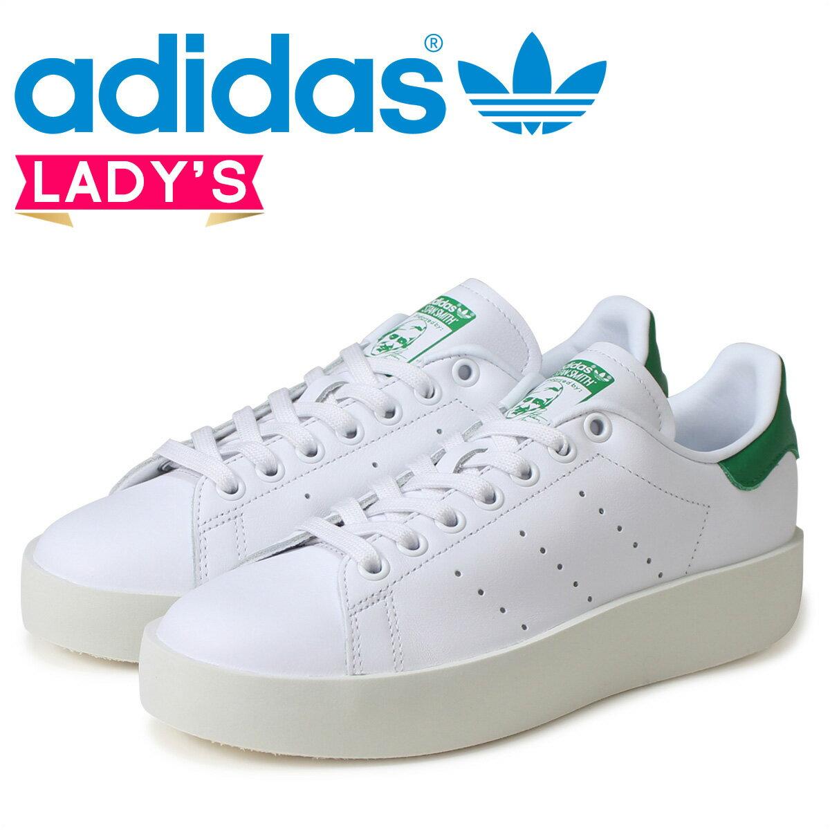 アディダス スタンスミス レディース adidas Originals スニーカー STAN SMITH BD W S32266 靴 ホワイト オリジナルス 【CLEARANCE】【返品不可】