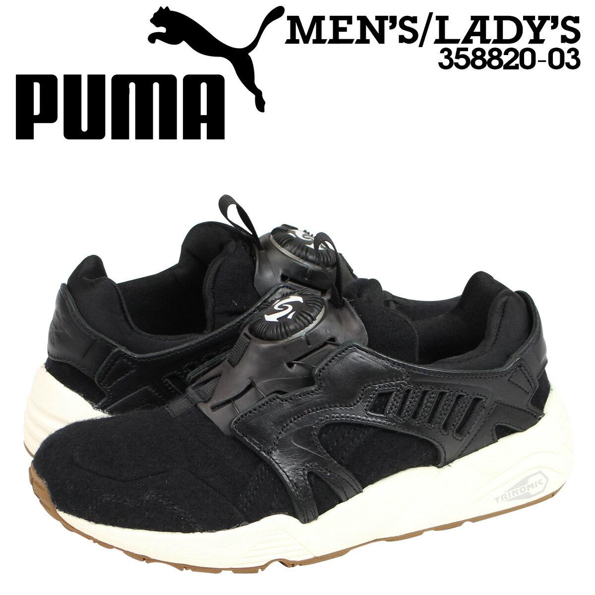プーマ PUMA スニーカー DISC BLAZE FELT 358820-03 メンズ レディース 靴 ブラック