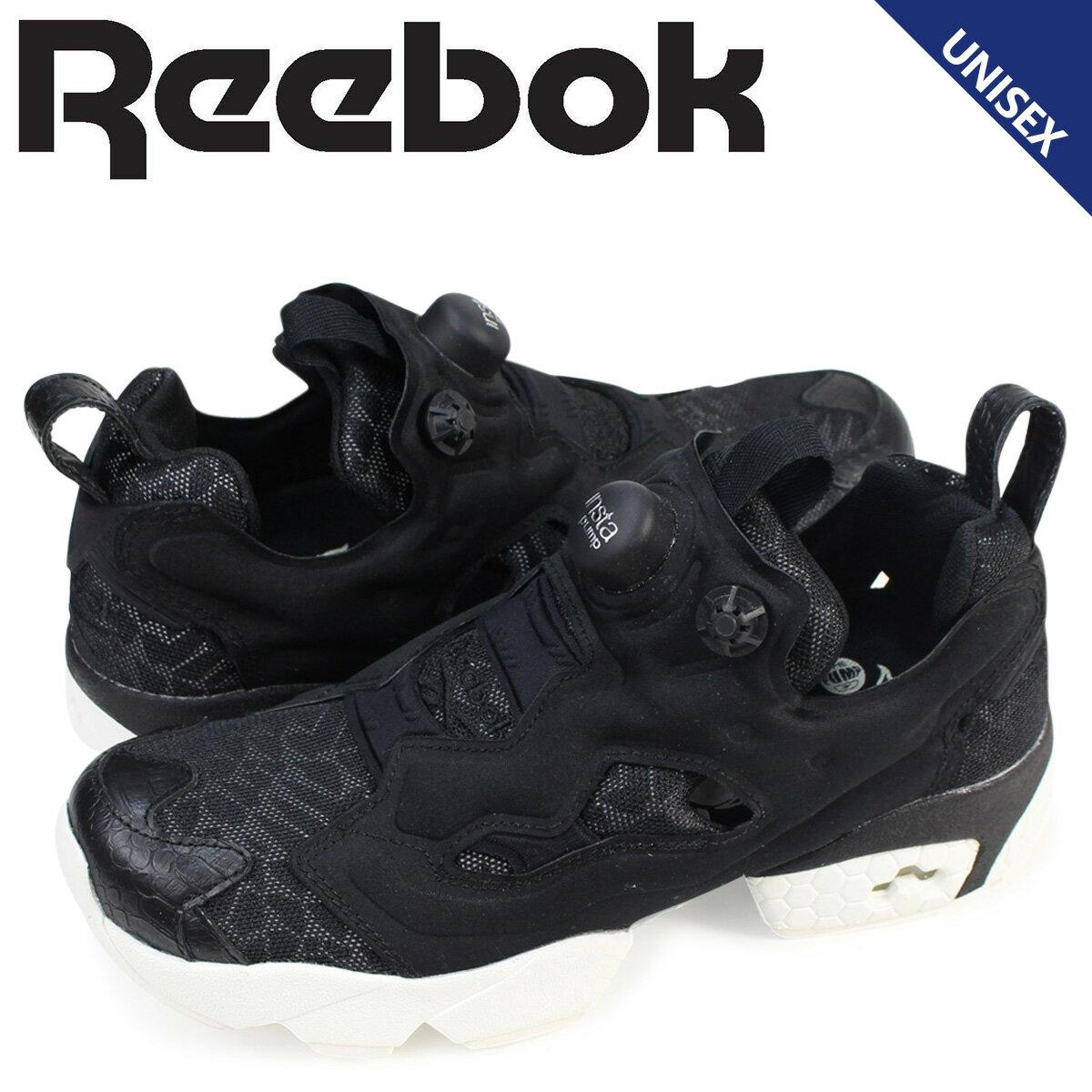 リーボック ポンプフューリー スニーカー Reebok INSTAPUMP FURY OG メンズ レディース AQ9079 靴 ブラック