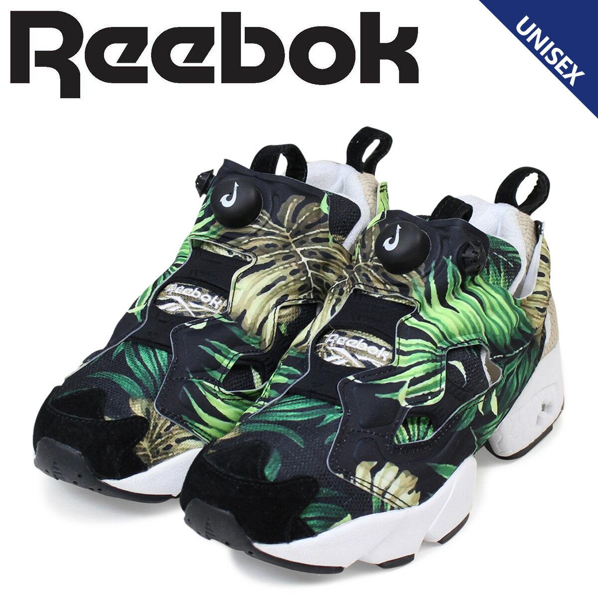 リーボック ポンプフューリー スニーカー Reebok Jungle Girl INSTA PUMP FURY JG コラボ レディース メンズ AR2491 靴 ブラック