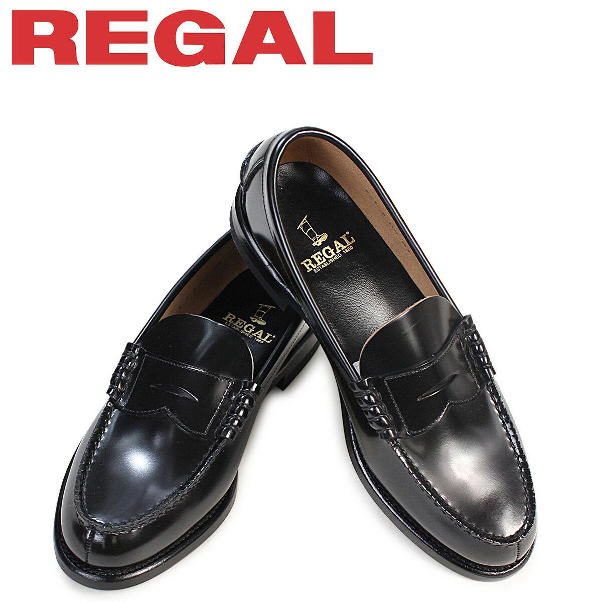 リーガル 靴 メンズ REGAL ローファー 2177N 2177NEB ビジネスシューズ ブラック [9/7 追加入荷]