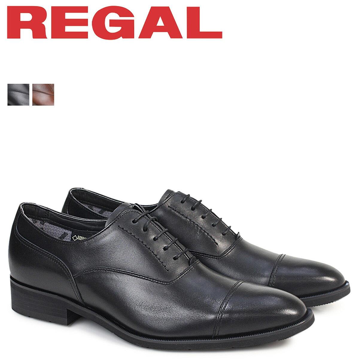 リーガル 靴 メンズ REGAL ストレートチップ 35HRBB ビジネスシューズ 防水 日本製 ブラック [9/14 追加入荷]