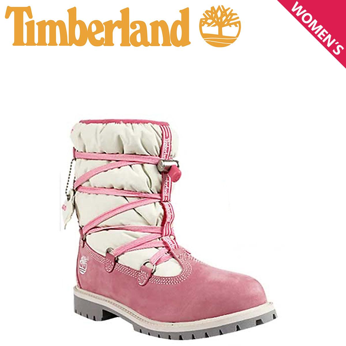ティンバーランド レディース ブーツ 6インチ Timberland JUNIOR 6INCH QUILTED BOOT 72914 スノー 防水 【S10】【返品不可】