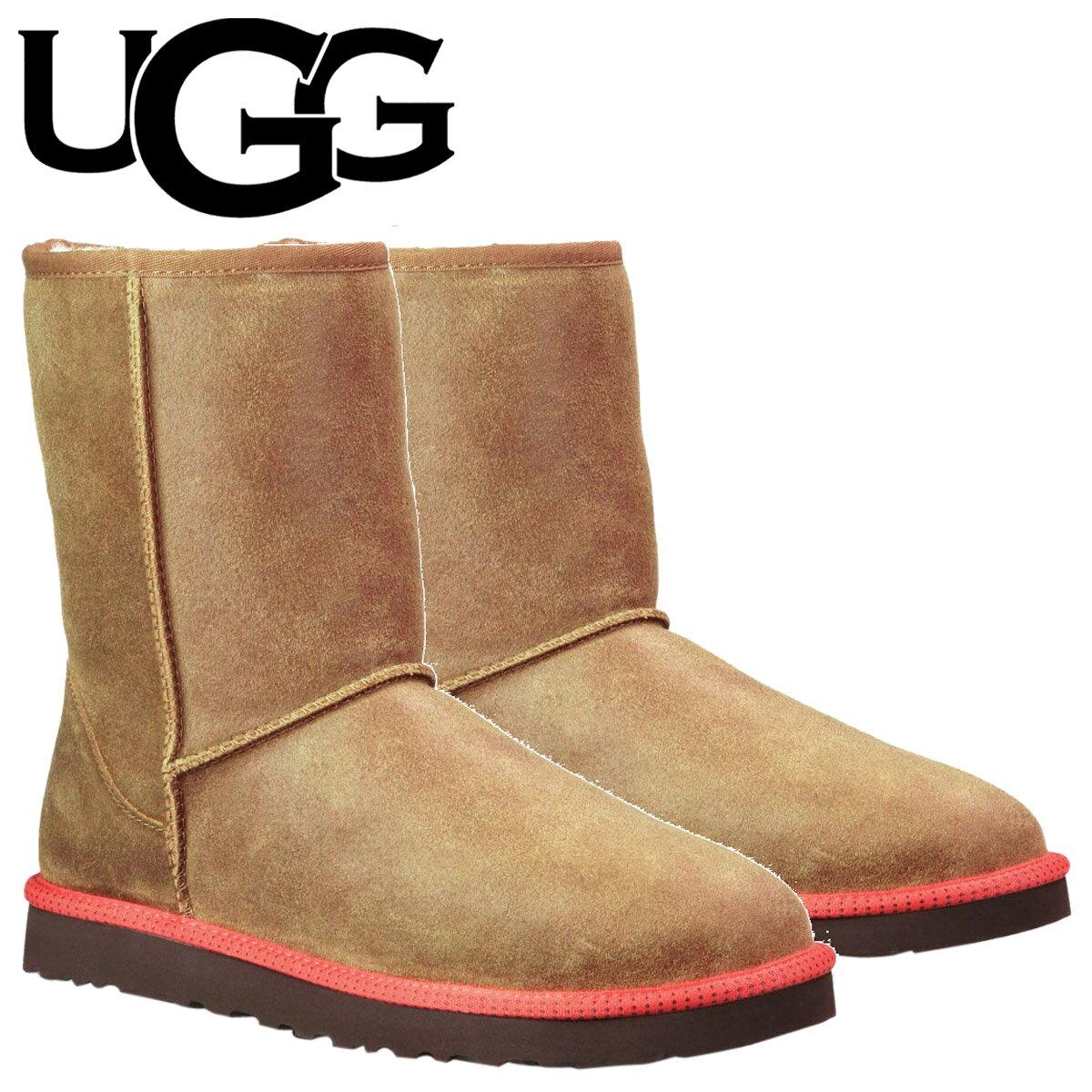 UGG アグ クラシック ショート メンズ ムートンブーツ  MENS CLASSIC SHORT  1003950 チェスナット [S10] [返品不可]