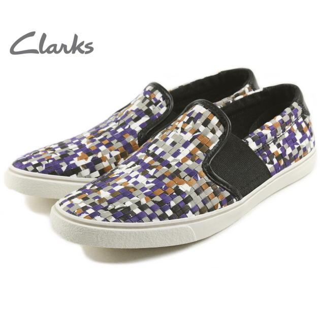 クラークス Clarks GOSLING STEP ゴスリングステップ パープルコンビ 531E-PUPL