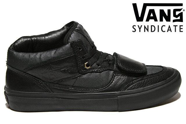 VANS SYNDICATE X MAX SCHAAF MOUNTAIN EDITION 4Q S VN00018JGSNバンズ シンジケート マックス シャーフ マウンテン エディション ブラック レザー メンズ スニーカー 限定