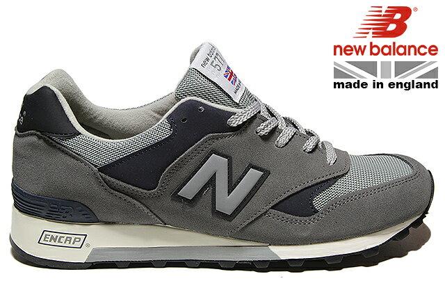 NEW BALANCE M577 GNA GREY/NAVY 「Made in England」 WIDTH:Dニューバランス グレー ネイビー メイド イン イングランド メンズ スニーカー Dワイズ UK 英国 定番