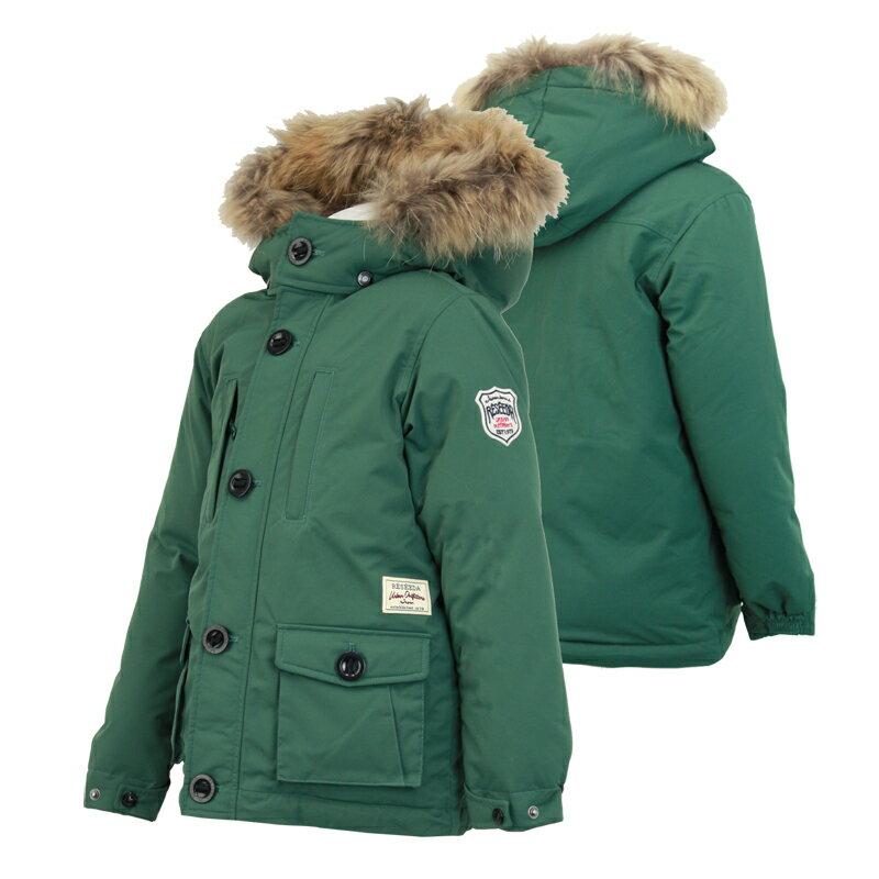 ジュニア ダウンジャケット スキージャケット rej79505 538(POSY GREEN) 110 120 130 140 150