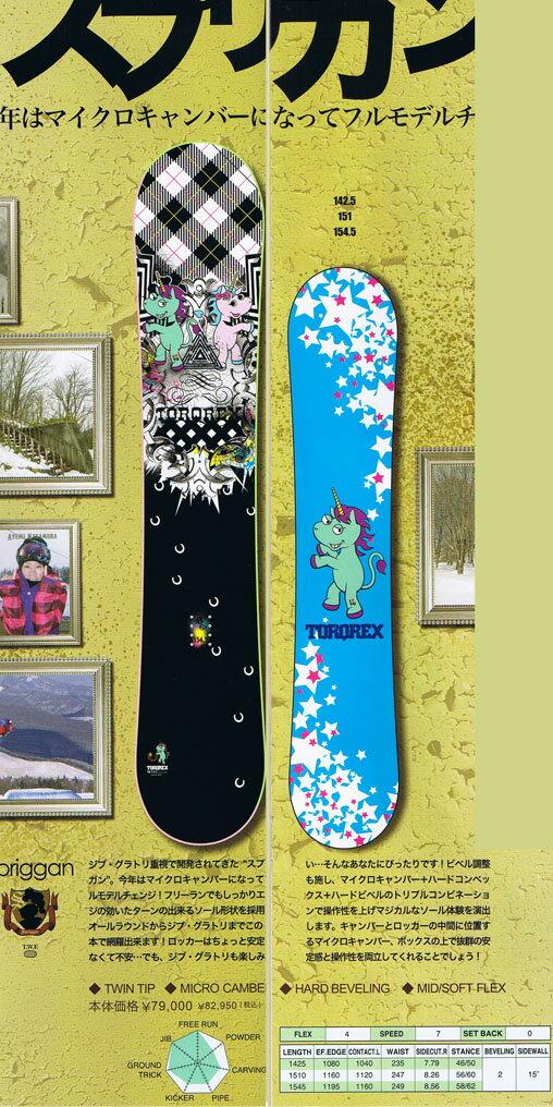≪送料無料&ダリングサービス≫11-12 TORQREX SNOWBOARD SPRIGGAN【142.5/151/154.5】【smtb-f】
