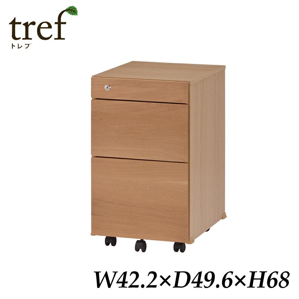 イトーキ3段 木製ワゴン トレフ YTF-WW