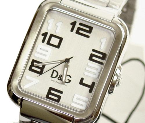 D&G TIME ドルチェ&ガッバーナAPACHE メンズ腕時計 SSベルト  DW0190【ラッピング無料】【楽ギフ_包装】【10P11Mar16】【05P03Dec16】