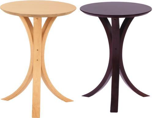 【送料無料】サイドテーブル 2個セット φ40×H54.5cm [東谷] NET-410NABR テーブル インテリア家具【smtb-tk】