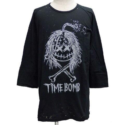 PROPAgANDAプロパガンダ×MAD ベースボールTシャツ[ TIME BOMB XX ]P63055